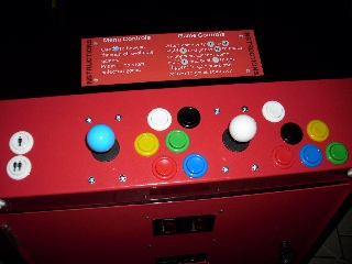 usb connector on the arcade back.