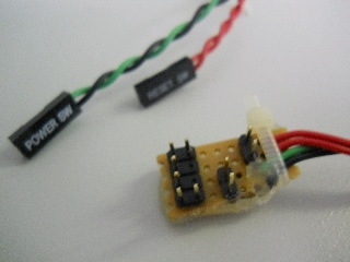 pcb for power & reset switch